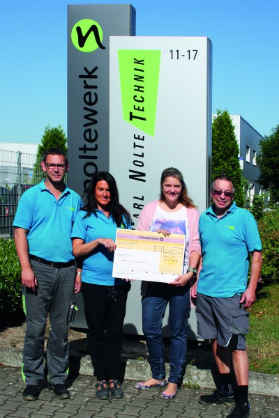 Spende der Carl Nolte Technik GmbH