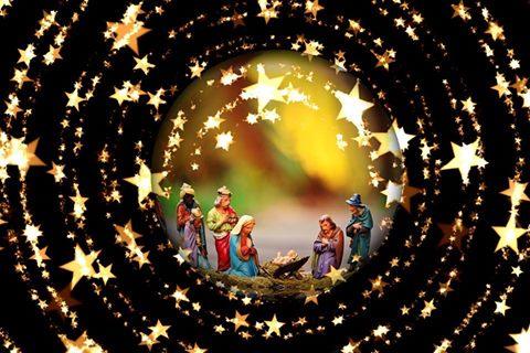 Wir wünschen allen gesegnete Weihnachten!