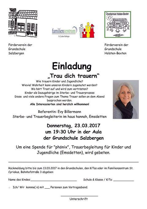 Vortrag in Salzbergen