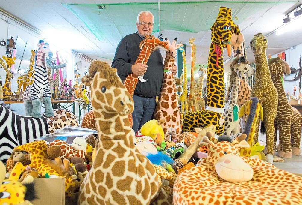 …und noch eine Giraffe…