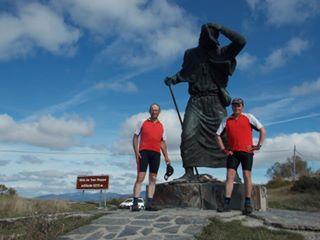 Unsere Pedalritter Markus Sterthaus und Herbert Preckeler sind zurück von Ihrer großen Reise!