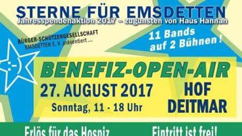 Mega-Open-Air Konzert