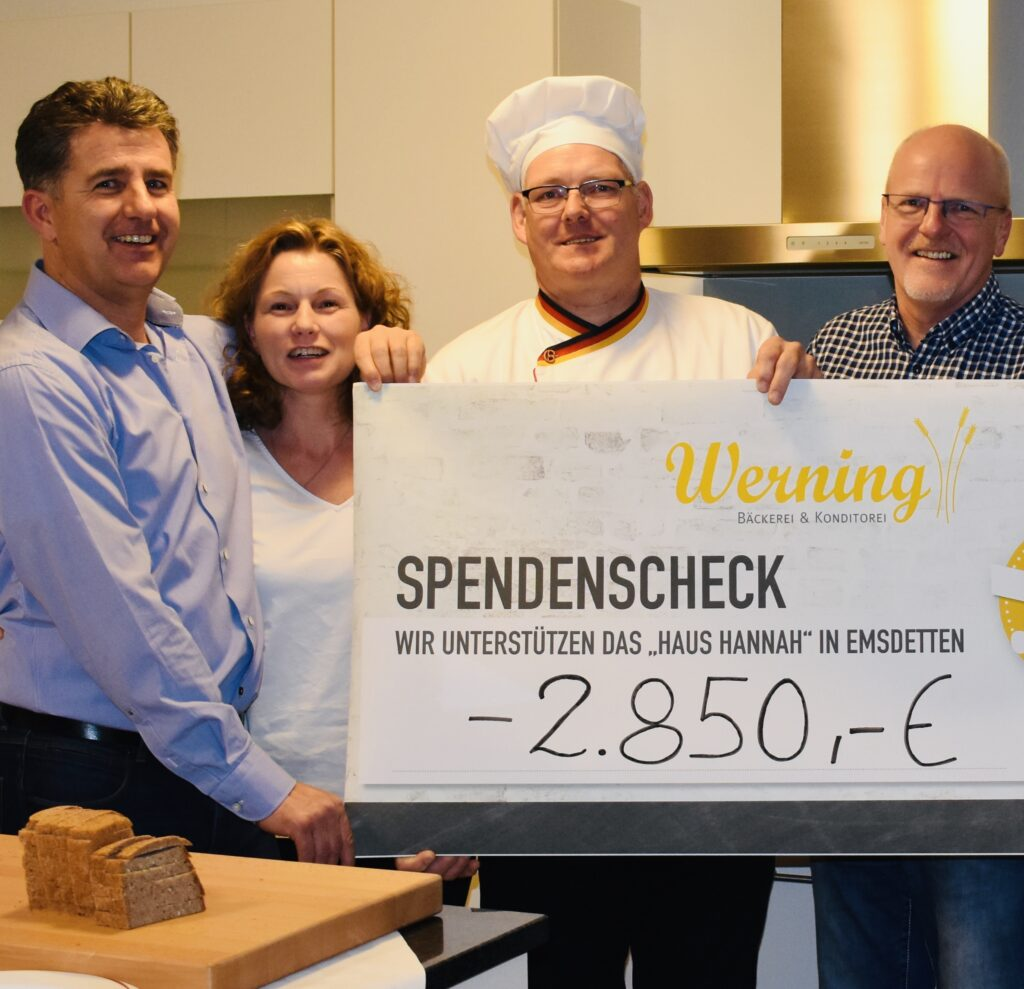 Spende mit Brotverköstigung