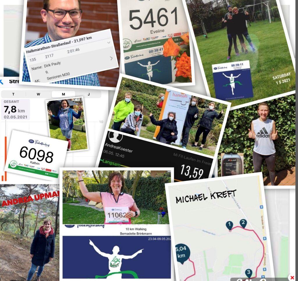 """Team """"haus hannah"""" läuft mehr als 200 Kilometer"""